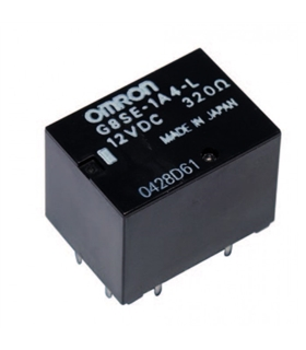 G8SE-1A4-L - Relé Omron 12V, 6 Pinos, 320 Ohm - G8SE1A4L12VDC