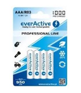 Baterias AA NiMH 1000Ah - Panasonic Evolta P-6E/4B -4 unid. - 1694R31000