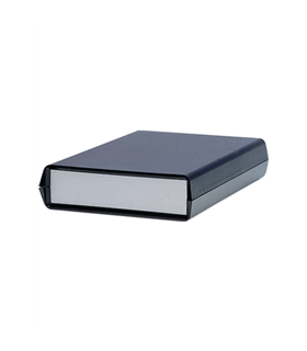 Teko 932 - Caixa plástico ABS c/paineis Aluminio 178x132x54 - 932
