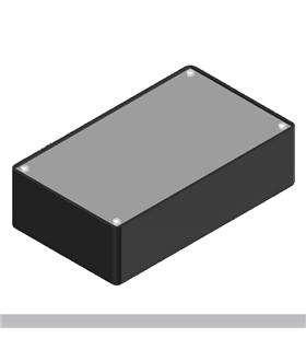 Teko Coffer A/7 - Caixa plástica ABS c/Aluminio 160X95X45 - COFFER7A