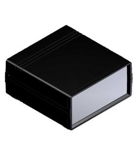 Teko 022 - Caixa plastico ABS c/painel Aluminio 134X129X61 - 022