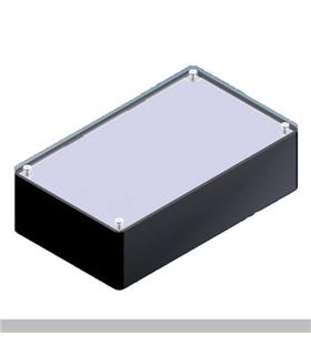 Teko TP 3 - Caixa Plástico ABS c/painel Aluminio 160X95X49 - TP3