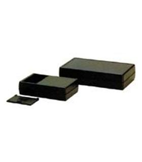 CX462PT - Caixa Plastica 60x130x29mm c/suporte 2 pilhas LR6 - CX462PT
