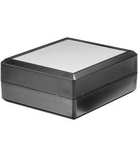 Teko 1111.9 - Caixa em Plastico ABS tampa Aluminio 85x72x25 - 1111.9