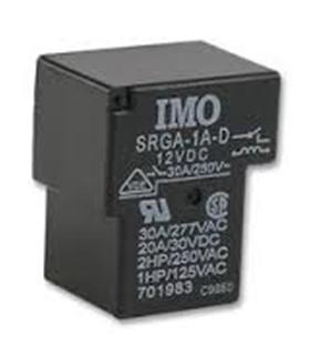 SRGA-1A-SL-12VDC - RELAY, COVERED, SPNO, 12VDC - SRGA-1A-SL-12VDC
