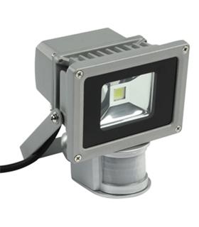 Foco Led P/ Exteriores 10W 230V Branco Frio com Sensor - FPLE10CWS