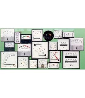 Amperimetro 0-1mA 45x45x33mm - A1MA