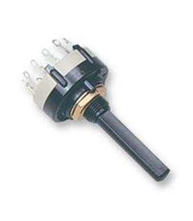 Comutador Rotativo 3 Circuitos 4 Posições - CR3C4P