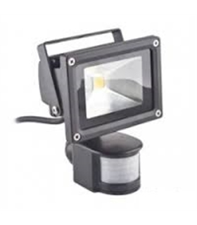 Projector Led 20W  Branco Quente 1600Lm Ip65 Com Sensor - FPLE20WWS