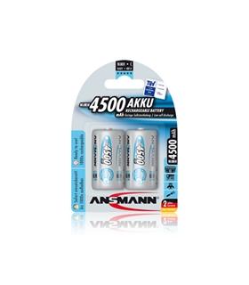 Pack 2 Pilhas Ansmann Lr14 4500Mah - 5035352