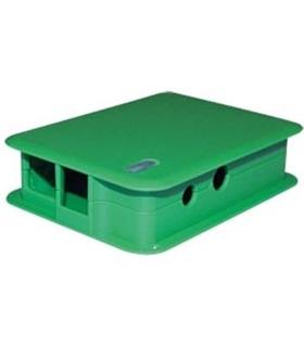 TEK-BERRY.41 - Caixa Verde para Raspberry Modelo B - TEKO - TEK-BERRY.41