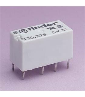 Rele Finder 5V 1A 2 Inversores - F30225