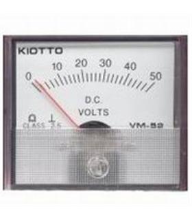 Voltimetro 70X60mm 50VDC - VM5250V