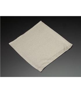 ADA1167 - Knit Conductive Fabric - Silver 20cm square - ADA1167