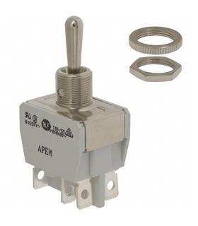 Interruptor Alavanca 3Posiçoes  2Circuitos  2Teimosos Grande - 9143P2C2TG