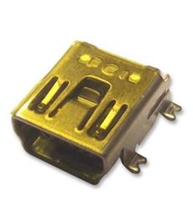 N3212MLF - Ficha Mini Usb 2.0 Tipo B Circuito Impresso - MUSBCI11