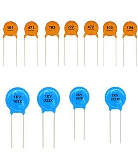 Condensador Ceramico 220pF 1000V - 332201KV