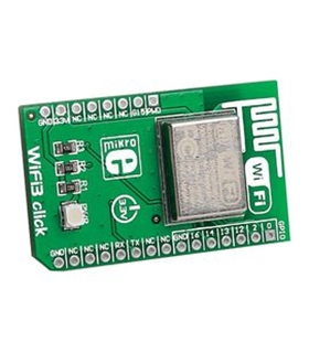MIKROE-1769 - ADD-ON BOARD, ESP8266 WIFI3 CLICK - MIKROE1769