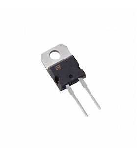 STTH1212D - Standard Power Diode, Single, 1.2 kV, 12A, TO220 - STTH1212