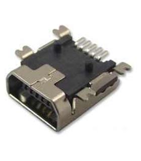 MUSB-05-S-AB-SM-A - Ficha Mini Usb 2.0 Smd - MUSBCI10