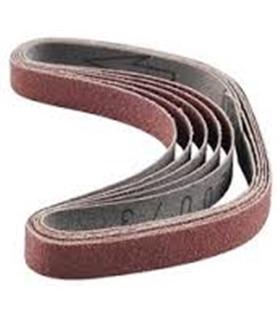 28581 - Conjunto de cintas de lixa em Corindo, grão 180, 5un - 2228581