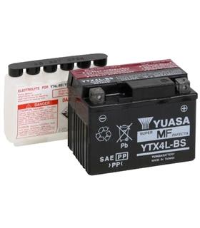 YTX4L-BS - Bateria Moto 12V 3.2Ah Yuasa - YTX4LBS