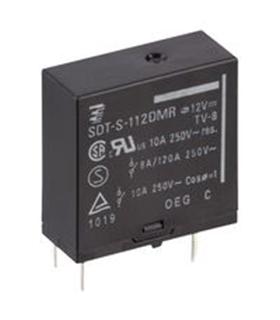 SDT-S-112LMR - Rele 12Vdc 10A SPST-NO - SDTS112LMR