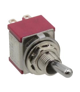 Interruptor Alavanca 3 Posiçoes  2 Circuitos  2 Teimosos - 9143P2C2T