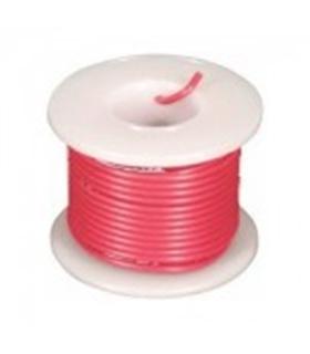PKCM05/25R - Rolo de Cabo Multifilar Vermelho 0.5mm Rolo 25M - PKCM05/25R