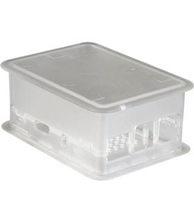 Caixa Grande Transparente p/Raspberry PI3 - TEK-RPI-X3.0