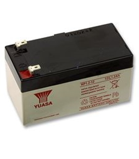 NP1.2-12 - Bateria Gel Chumbo 12V 1.3A - 50x95x43mm - 1213Y