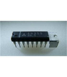 MAX232ACPE+ - IC, DUAL TRANSCEIVER, RS232, DIP16 - MAX232ACPE+