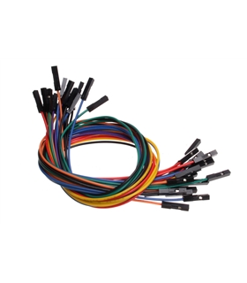 1 Pin Dual - Female Jumper Wire - 300MM - MX120530004