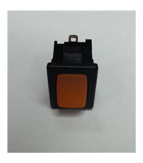 Interruptor basculante 2 posições estáveis - ON-OFF- Laranja - 914BPO