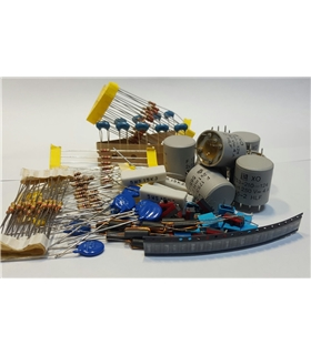 Conjunto de Componentes Diversos 185 Peças - KIT11