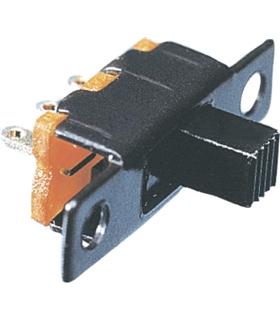 Interruptor deslizante 2 posições estáveis - ON-ON - 24VDC - ID1C2P