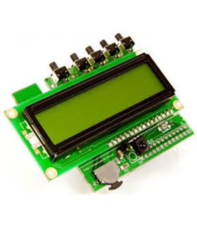 PIFACE CONTROL & DISPLAY 2  I/O BOARD W/ LCD FOR RASPBERRY - PIFACELCD2