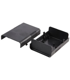 Caixa plástica 95x135x45mm Preto KEMO G010 - MX096-5351