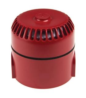 Sirene Vermelha 86-264Vac, 102dB a 1 Metro - 249564