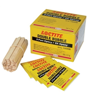 LOCTITE 1303596 - Double Bubble Epoxy 3g PK50 - LOCTITE1303596