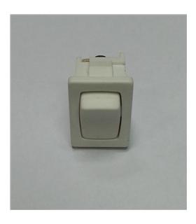 Interruptor basculante 2 posições estáveis - ON-OFF - Branco - 914BPW