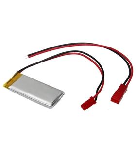 LP502030 - Bateria Polimeros 3.7V 250mAh 5x20x30mm com cabo - LP502030