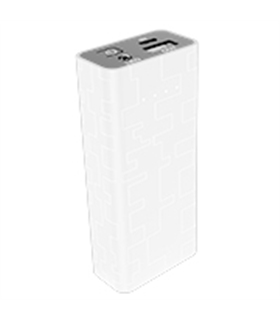 Power Bank 5200mA Branco - MXPB5200WH