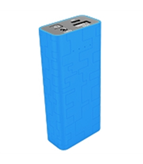 Power Bank 5200mA Azul - MXPB5200BL