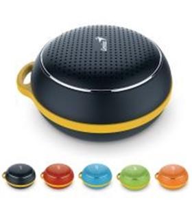 SP906BTBR - Altifalante Bluetooth Com Microfone Cor Vermelho - SP906BTR