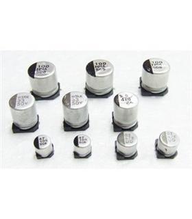 Condensador Electrolitico 10uF 25V Smd - 351025D