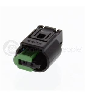1-967644-1 - CONNECTOR HOUSING, RECEPTACLE, 2 WAY - 1-967644-1
