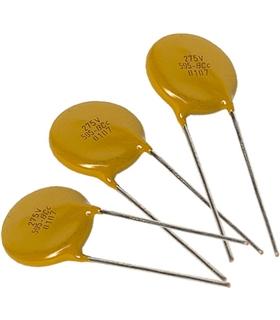 Varistor 275Vac, 430Vdc 7mm - 7N471K - 2217K275