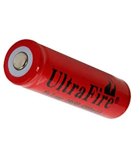 Pilha Litio Li-Ion 4,2V-6000mAH - UltraFire - 16918650U
