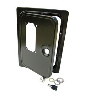 C-5271 - Porta Metalica Para Selector de Moedas Com Janela - C-5271